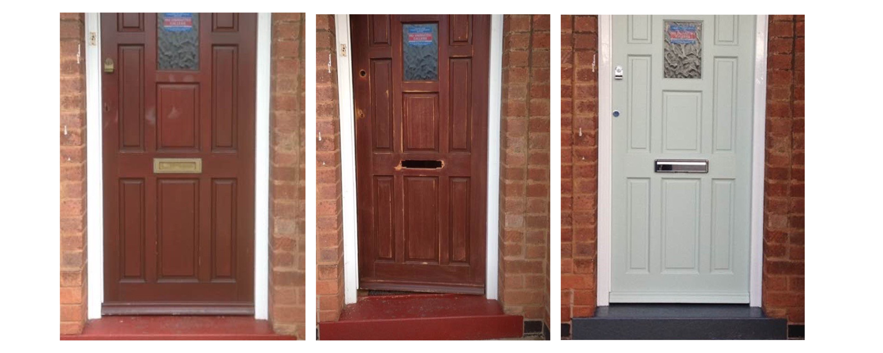 Brighten up your door with some new door furniture. We supply and fit all door furniture however the customer is reponsible for all paint work. & About Mrs Picklocks | Lady Locksmiths | Wigston | Leicester